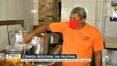 Quadro 'Minha Comunidade' visita bairro Paupina - Saiba mais em g1.com.br/ce