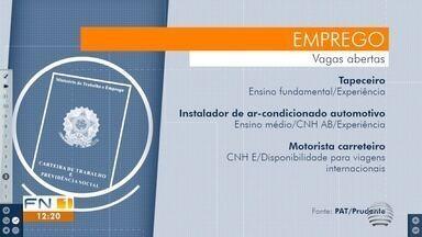 Confira as oportunidades de empregos disponíveis em Presidente Prudente - Veja quais vagas estão abertas na cidade.
