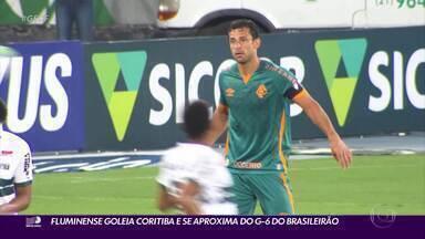 Fluminense goleia o Coritiba pelo Campeonato Brasileiro - Fluminense goleia o Coritiba pelo Campeonato Brasileiro