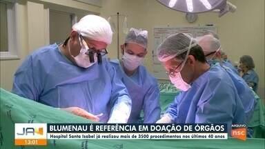 Blumenau é referência em doação de órgãos - Blumenau é referência em doação de órgãos