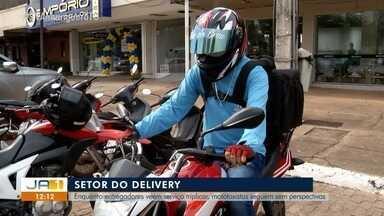 Mototaxistas seguem sem poder transportar passageiros e precisam se reinventar - Mototaxistas seguem sem poder transportar passageiros e precisam se reinventar
