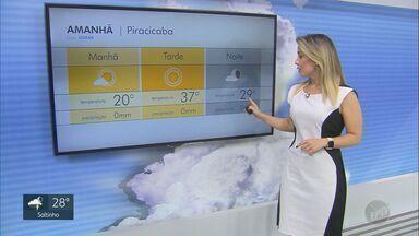Calor pode bater novos recordes na região de Campinas; veja a previsão desta quarta (30) - Em Holambra (SP), mínima será 20º e máxima de 38ºC.