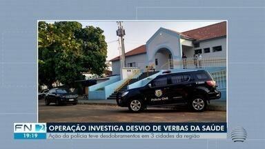Operação contra desvios de verbas na saúde cumpre mandados no Oeste Paulista - Ação teve desdobramentos em Dracena, Flórida Paulista e Pacaembu.