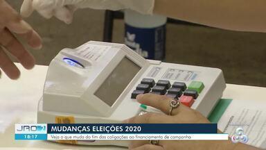 Mudanças nas Eleições 2020 - Do fim das coligações ao financiamento de campanha veja o que muda este ano.