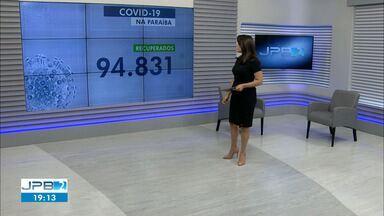 Paraíba tem 120.654 casos confirmados e 2.816 mortes por coronavírus - São 667 casos e 12 mortes confirmadas nesta terça-feira (29).