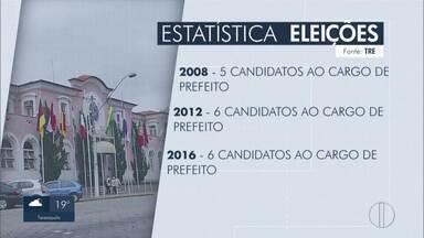 Nova Friburgo, RJ, tem número recorde de candidatos à Prefeitura - Número de concorrentes é mais que o dobro de anos anteriores. Este ano, são 16 candidatos para 151 mil eleitores.