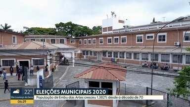 População de Embu das Artes cresceu 1.382% desde a década de 70 - Cidade sofre com a falta de leitos públicos de UTI
