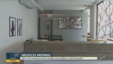 Ribeirão Preto registra duas mil novas empresas entre junho e agosto deste ano - Com demissões geradas pela crise da Covid-19, moradores sentiram necessidade de empreender para garantir sustento, o que ajuda a explicar o crescimento.