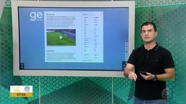 Paulo Taroco comenta os principais destaques do esporte - Veja algumas notícias desta quinta-feira (1º).
