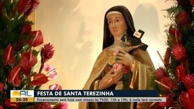 Festa de Santa Teresinha termina nesta quinta-feira - Festejos estão acontecendo no José Tenório.