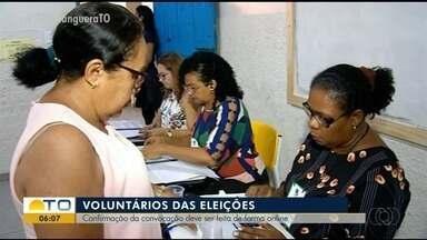 Mesários devem confirmar a convocação para as eleições pelo site do TRE - Mesários devem confirmar a convocação para as eleições pelo site do TRE
