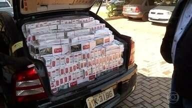 Apreensões de cigarros contrabandeados aumentam 500% durante a pandemia - Reforço na fiscalização das estradas aumenta os flagrantes de carga trazida ilegalmente do Paraguai.