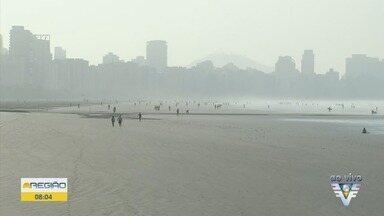 Baixada Santista tem previsão de calor nos próximos dias - Chuva e ventania foram registradas em algumas cidades da região na quarta-feira (30).