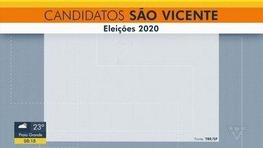 Conheça os candidatos a prefeito e vice em São Vicente - Candidaturas foram registradas pela Justiça Eleitoral.