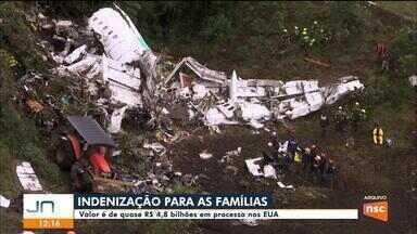 Processo nos EUA prevê indenização a familiares de vítimas do voo da Chapecoense - Processo nos EUA prevê indenização a familiares de vítimas do voo da Chapecoense