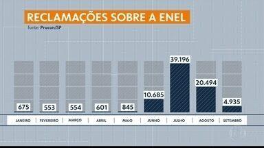 Queixas sobre a conta de luz na pandemia caem 87% - As queixas contra a Enel caíram entre julho e setembro,.