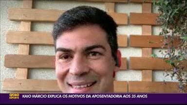 Kaio Márcio expõe motivos de sua aposentadoria das piscinas - Nadador anunciou a sua aposentaria na última segunda-feira, em um post nas redes sociais