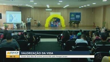 Jovens são alertados sobre suicídio e ações de valorização da vida em Macapá - Programação do Amapá Jovem marcou encerramento da campanha Setembro Amarelo.