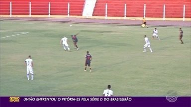 União goleia Vitória-ES e vence a primeira na Série D - União goleia Vitória-ES e vence a primeira na Série D.