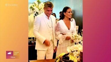 Fátima felicita Fábio Assunção por casamento com Ana Verena - Apresentadora comenta os assuntos que estão em alta nas redes socais