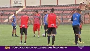 Gelson Conte não é mais técnico do Águia Negra; Rodrigo Cascca reassume - Gelson Conte não é mais técnico do Águia Negra; Rodrigo Cascca reassume