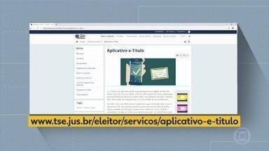 TRE de Pernambuco tira dúvidas sobre como ter acesso ao e-Título - Representante do tribunal apontou facilidades proporcionadas pelo aplicativo.