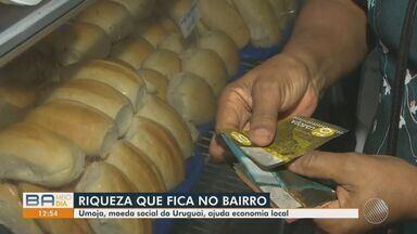Moradores do bairro do Uruguai adotam uso de moeda exclusiva no comércio local - Conheça a 'Umoja', que está fazendo sucesso entre comerciantes da localidade.
