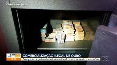 Operação combate extração e comércio ilegal de ouro em cidades de Goiás - De acordo com a PF, mineral era usado como moeda de troca para a compra de vários bens.