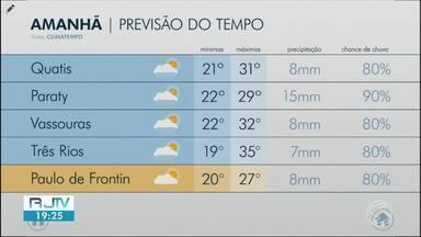 Frente fria segue na região nesta sexta-feira - Meteorologia prevê possibilidade de chuva.