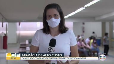 Governo termina com entrega de medicamentos da farmácia de alto custo - GDF organizou serviço para acabar com as filas na pandemia.