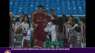 Fluminense não perde para o Bahia em casa há nove anos - Fluminense não perde para o Bahia em casa há nove anos