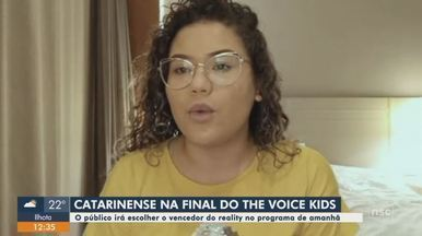 Catarinense está na final do The Voice Kids - undefined