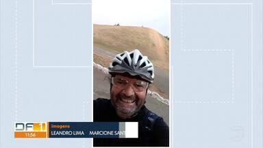 Ciclista morre atropelado na Asa Norte - O motorista que atropelou e matou o ciclista fugiu.