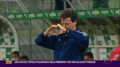 São Paulo vence Palmeiras pela primeira vez no Allianz Parque - São Paulo vence Palmeiras pela primeira vez no Allianz Parque
