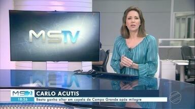 MS2 - Campo Grande - segunda-feira - 12/10/20 - MS2 - Campo Grande - segunda-feira - 12/10/20