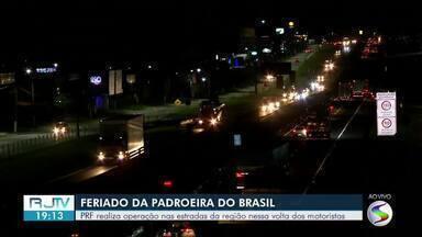 PRF realiza operação nas estradas da região nessa volta do feriado prolongado - Rodovias devem ficar movimentadas com muitos motoristas retornando pra casa neste Dia de Nossa Senhora Aparecida.