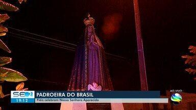 Celebrações de Nossa Senhora Aparecida são realizadas em Sergipe - Celebrações de Nossa Senhora Aparecida são realizadas em Sergipe.