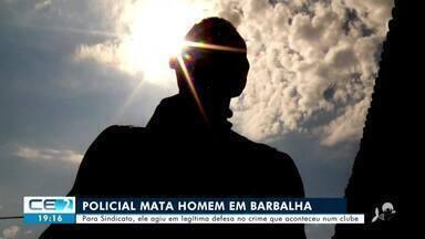 Policial é suspeito de matar homem em balneário de Barbalha - Confira mais notícias em g1.globo.com/ce