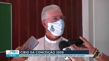 Arquidiocese de Santarém cancela parte de romarias das festividades da padroeira - Saiba como acontecerá o Círio de N. Sra. da Conceição.