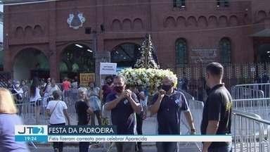 Fiéis de quatro cidades comemoraram o dia de Nossa Senhora Aparecida - Também aconteceram celebrações em homenagem a Nossa Senhora Aparecida nas cidades de São Vicente, Praia Grande e Mongaguá.