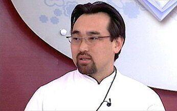 Workshop com Jun Sakamoto - Chefs têm uma verdadeira aula sobre a culinária japonesa.