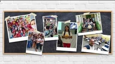 Estudantes fazem homenagem a professores - Dia do Professor é celebrado nesta quinta-feira (15).