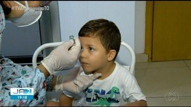 Tocantins quer vacinar 100 mil crianças contra a polio - Tocantins quer vacinar 100 mil crianças contra a polio