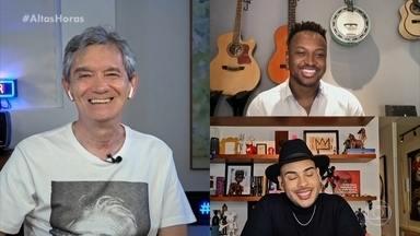 Thiaguinho fala sobre suas influências musicais - Cantor fala sobre sua relação com o samba