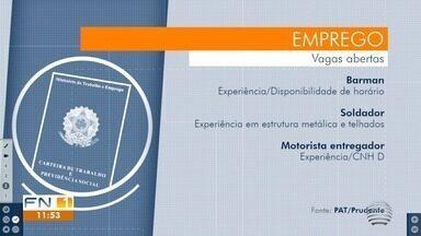 Confira as vagas de empregos disponíveis em Presidente Prudente - Veja as oportunidades.