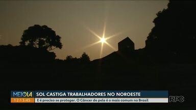 Bloqueador solar deve ser usado também em dias sem sol - E é preciso se proteger. O Câncer de pele é o mais comum no Brasil.