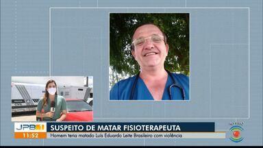 Jovem é preso suspeito de matar fisioterapeuta asfixiado em Campina Grande - Crime teria acontecido durante relação seuxal.
