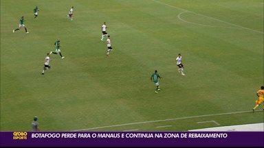 Botafogo-PB é derrotado pelo Manaus e segue no Z-2 da Série C - Belo perdeu por 3 a 2 para o Gavião