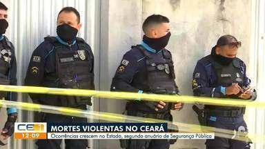 Mortes violentas crescem no Ceará, segundo Anuário de Segurança Pública - Saiba mais no g1.com.br/ce