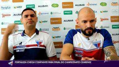 Marlon garante Fortaleza confiante para final do Campeonato Cearense - Marlon garante Fortaleza confiante para final do Campeonato Cearense